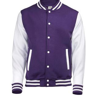 Pearl Davies Client Wardrobe - Lettermans Jacket, Purple