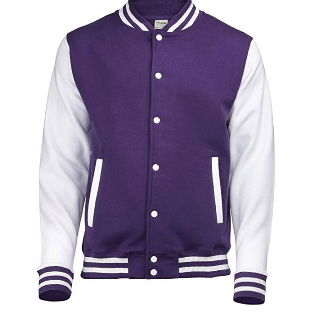 Pearl Davies Client Wardrobe - Lettermans Jacket, Purple