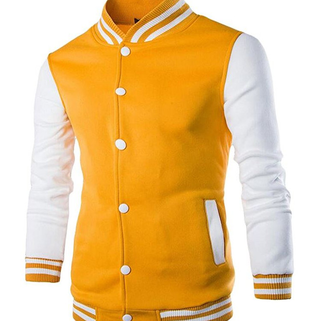 Pearl Davies Client Wardrobe - Lettermans Jacket, Yellow