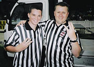 IWA Referees Myall Young & Graham Fozzy Young