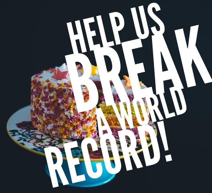 RECORD BREAKING CAKE WALK!