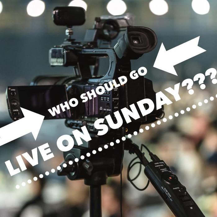 Join us LIVE on Sundays