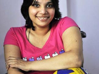 Delhi girl Riya Gupta is on top of her game