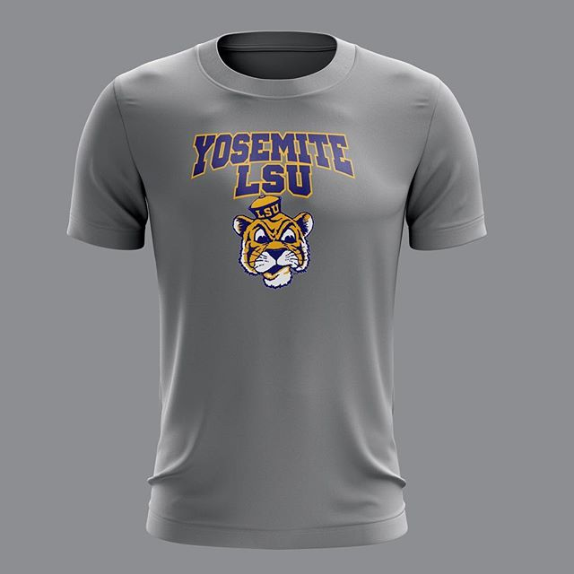 Shirts for Yosemite's youth basketball #screen #printing #screenprinting #customizedshirt #teamshirt