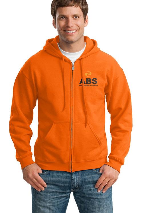 Heavy Blend Full- Zip Hooded Sweatshirt.