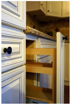 Mushroom White Cabinet