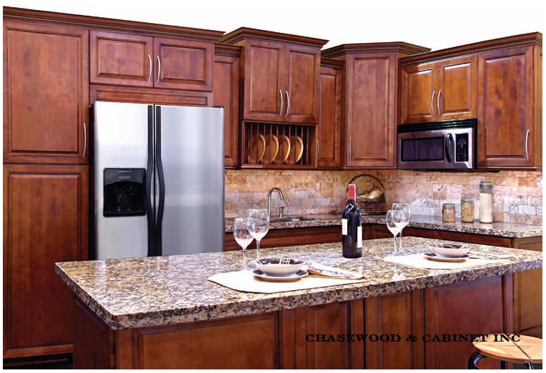 Bronze Cherry Kitchen