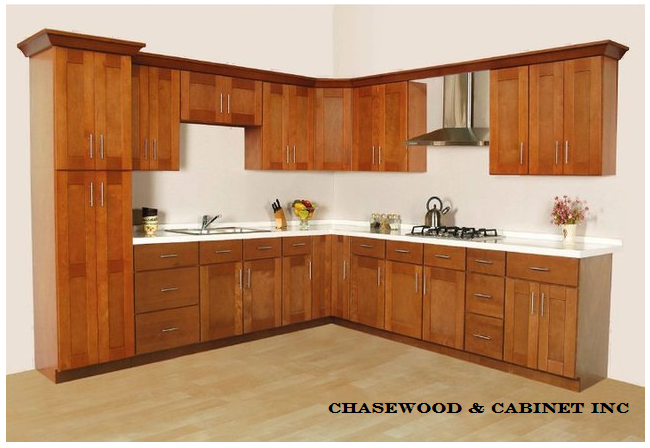 Cinnamon Shaker Cabinet