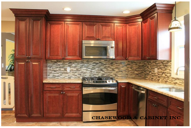 Bronze Cherry Kitchen