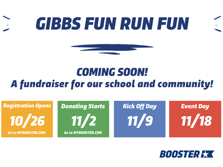 Boosterthon is COMING!