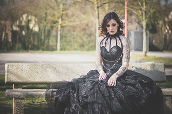 shooting photographe, nancy, princesse, robe, noire, nancy, lunéville, dombasle, photographie artistique