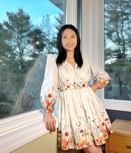 Zimmermann Inspired Floral Cotton Dress
