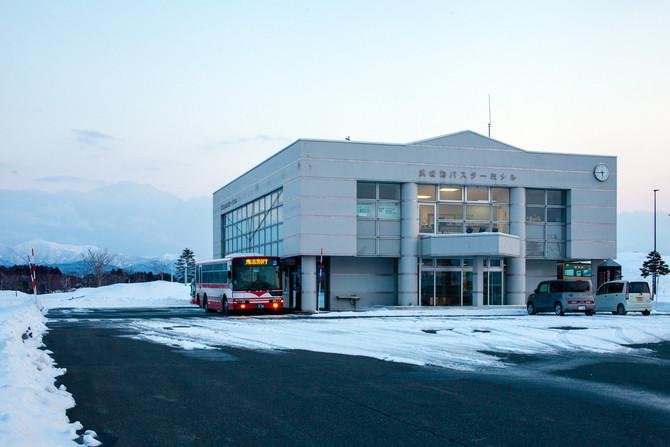 静かに移り変わる歴史 浜頓別バスターミナル