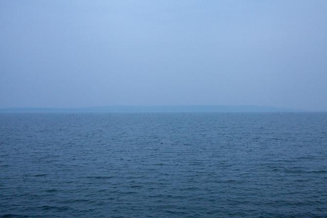地平線が見えること