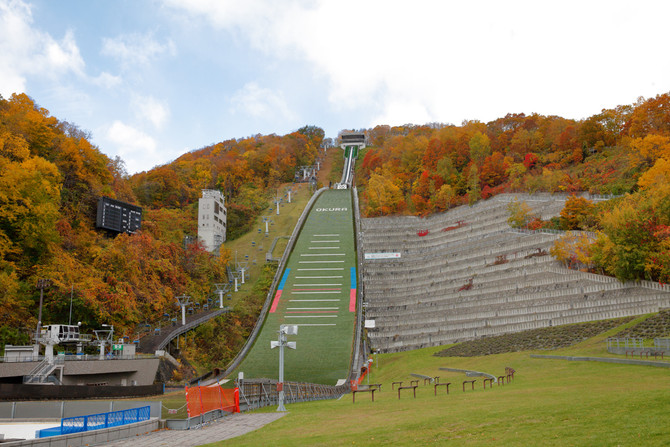秋の大倉山