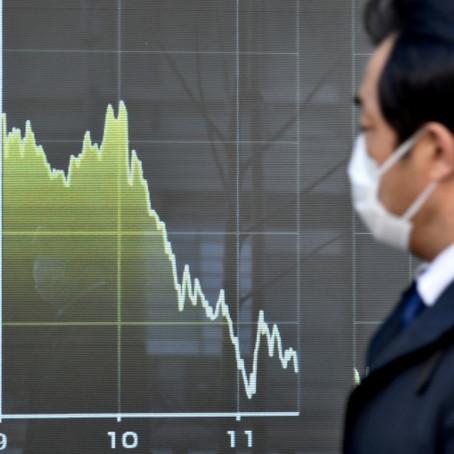 pensãoÚLTIMAS NOTÍCIASBolsas da Ásia fecham a maioria em queda