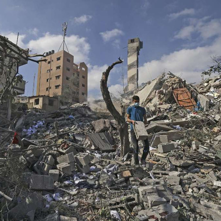Biden promete ajudar a 'reconstruir' Gaza após conflito