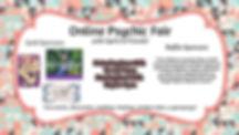 Online Psychic Fair with Spirit Holistic Center