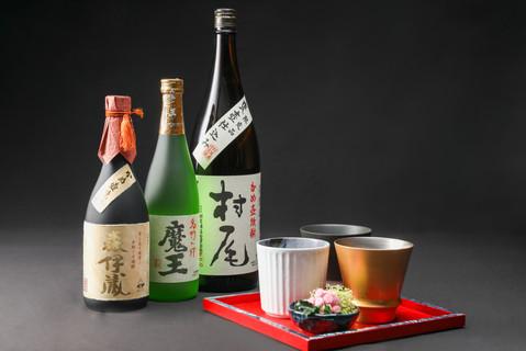 XIV湯河原離宮 日本酒利き酒