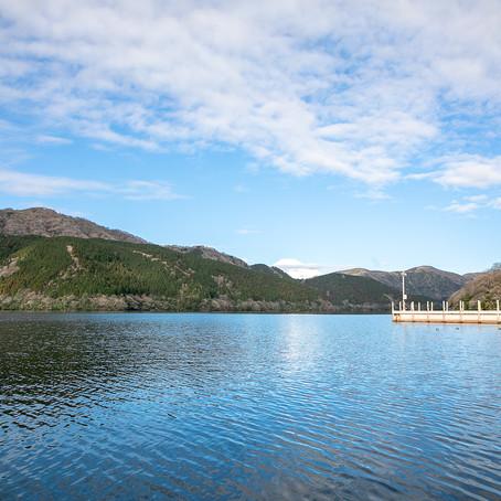 結婚式撮影in芦ノ湖