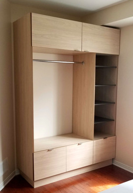 Custom Maple Wardrobe