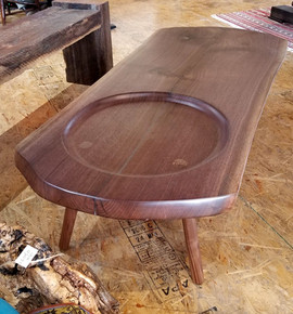 Solid Black Walnut Coffee Table 2