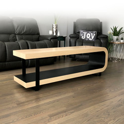 Black and Maple Coffee Table 1Black and Maple Coffee Table 3