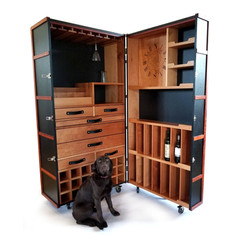 Custom Cedar Whiskey Cabinet  - featuring Ruby