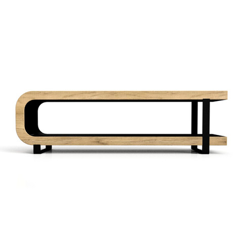Black and Maple Coffee Table 1