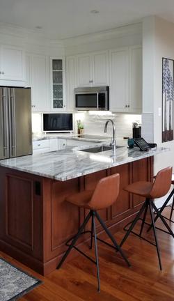 Kitchen Refacing - Soft White