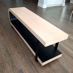 Black and Maple Coffee Table 2