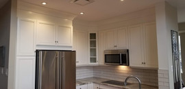 Kitchen Refacing - Soft White