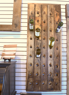 Barnboard Wine Rack