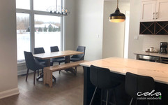 Kitchen Table and Bench 2