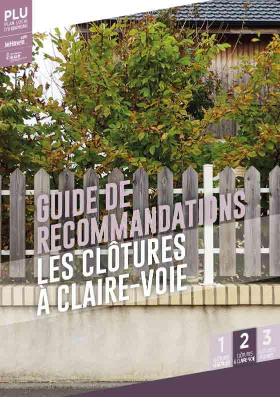 Guide de recommandations les clôtures à claire-voie