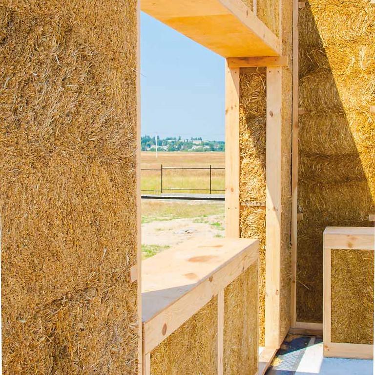 Focus sur : le matériau paille dans la construction