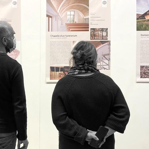 VISITE  PROFESSIONNELLE : ARCHITECTURE EN FIBRES VÉGÉTALES D'AUJOURD'HUI