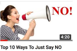 10 tapaa sanoa Ei