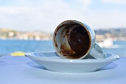 Gypsy Rose turkish coffee cup lying on side