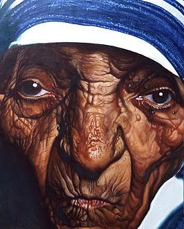 마더테레사 65×53(15호) acrylic on canvas