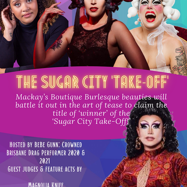 The Sugar City 'Take-Off!' Burlesque Competition