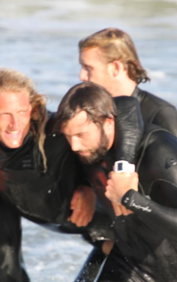 Miles, Marley, Chris & Luke - SVOR Rescue Swimmers!