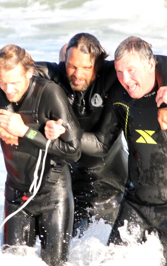 Luke. O'Connor, Miles  Brucculeri & Phil Matthews Training Hard!