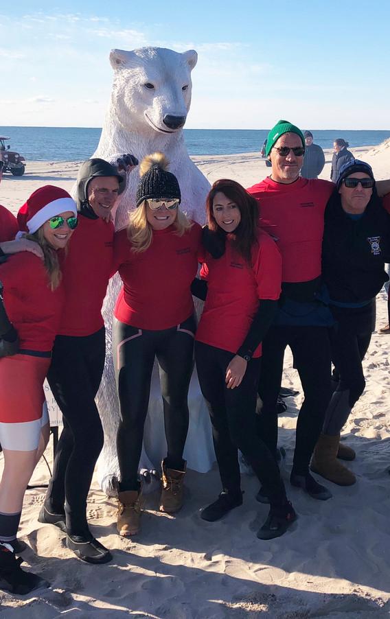 Polar Bear Plunge 2018 - Coopers Beach, Southampton