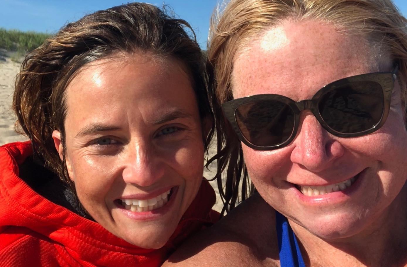 Christeen Brennan, Mitti Ellams Southampton Village Ocean Rescue Swimmers