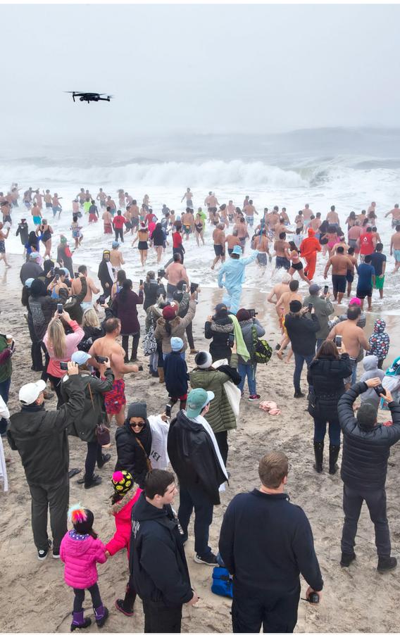 Polar Bear Plunge 2019 - Over 400 Swimmers!