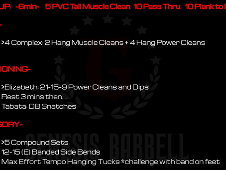 Daily Workout 7.7.21