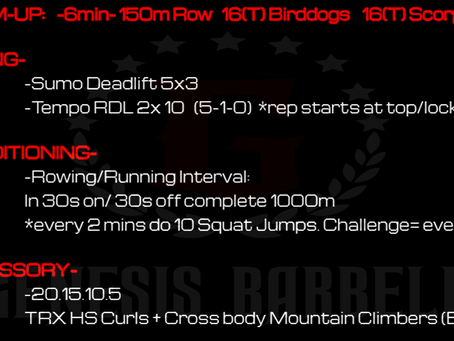 Daily Workout 7.22.21
