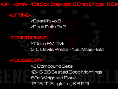 Daily Workout 7.15.21