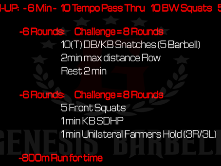 Daily Workout 7.10.21